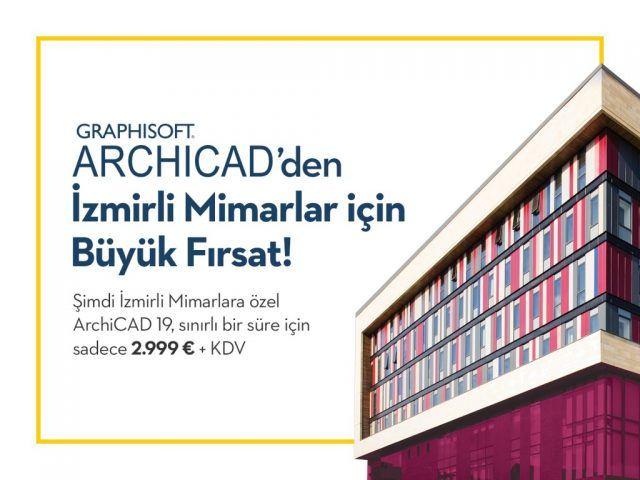 İzmirli Mimarlar için ARCHICAD 19 Kampanyası 3
