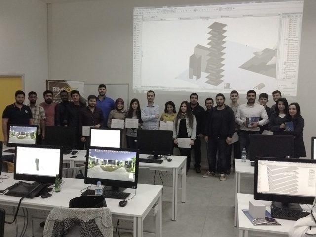 İzmir Gediz Üniversitesi Öğrencileri'ne ARCHICAD 19 ile Konsept Tasarım Workshop'ı düzenlendi 4