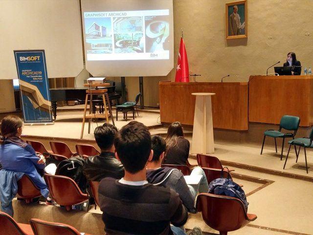 İTÜ Mimarlık Fakültesi'nde ArchiCAD Semineri Gerçekleştirdik 4