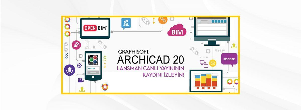 ARCHICAD 20 Lansman Toplantısının Canlı Kaydını İzleyin 4