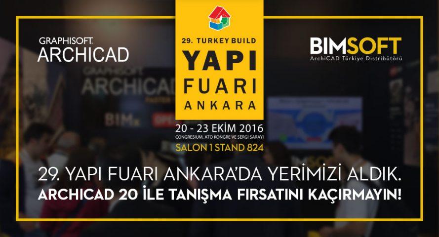 20-23 Ekim'de Yapı Fuarı - Turkeybuild Ankara'dayız 4