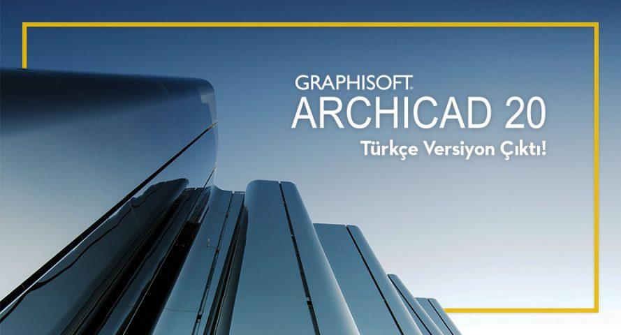 ARCHICAD 20 Türkçe Versiyonu Hazır! 4