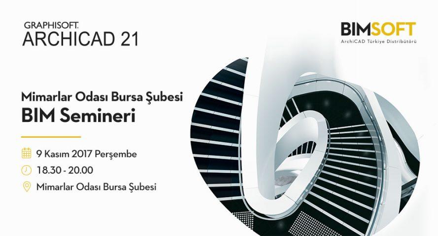 Mimarlar Odası Bursa Şubesi ARCHICAD 21 Semineri 4