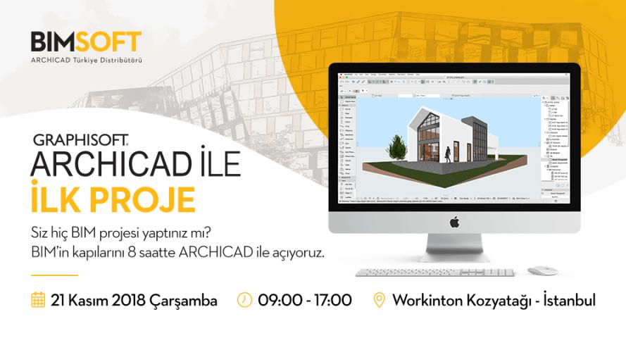 ARCHICAD ile İlk Proje - 8 Saatlik Ücretsiz Eğitimle BIM'in Kapılarını Açıyoruz 4