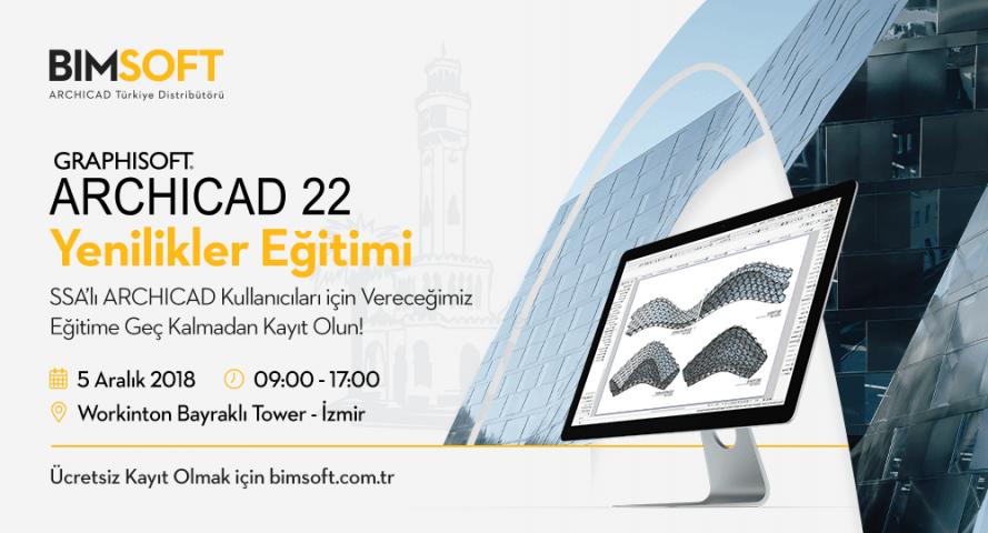 ARCHICAD 22 Yenilikler Eğitimi - İzmir 4