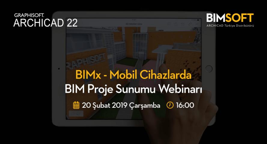 BIMx - Mobil Cihazlarda BIM Proje Sunumu Webinarı 4