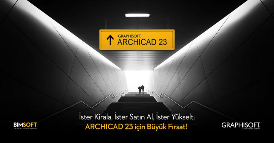 ARCHICAD 23 için Son Çıkış! 4