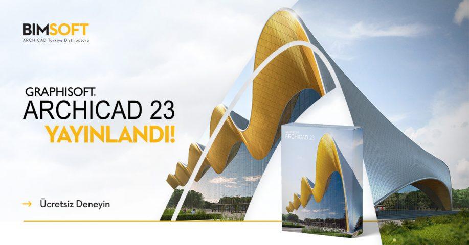 ARCHICAD 23 Yayınlandı! 4