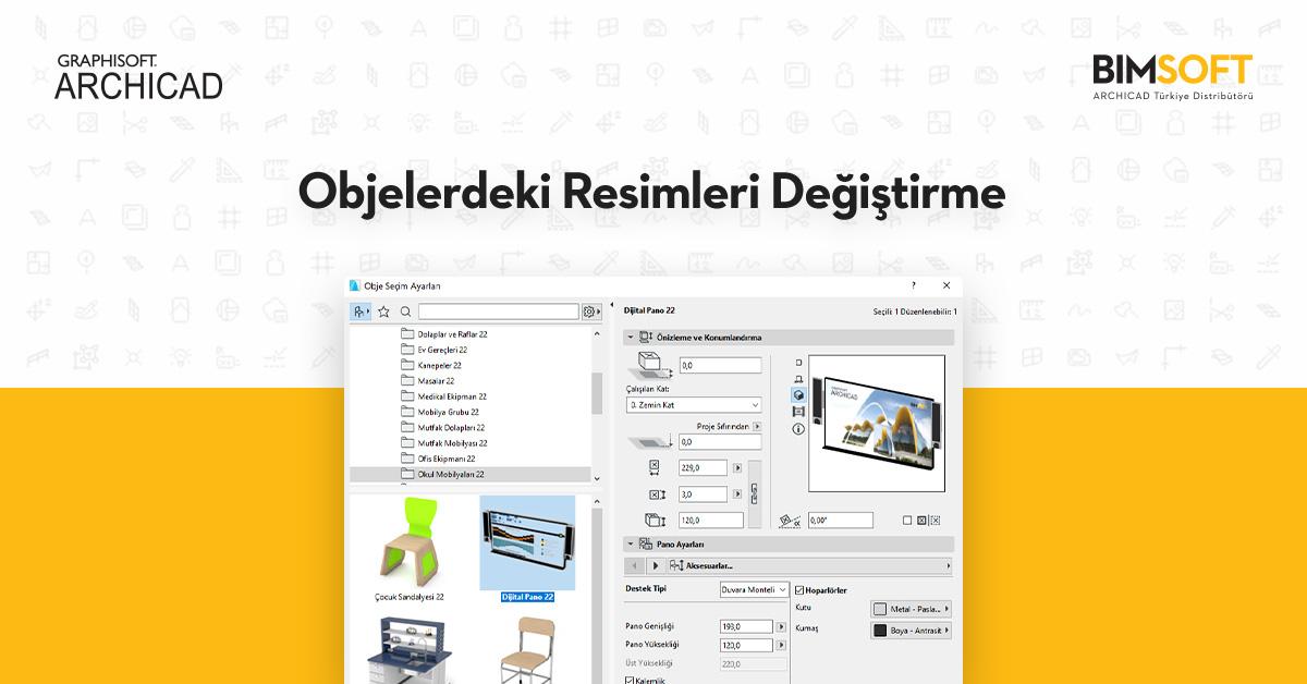 SketchUp, Cinema 4D, 3Ds Max objelerini, ARCHICAD Objesi Olarak Kaydetme 15