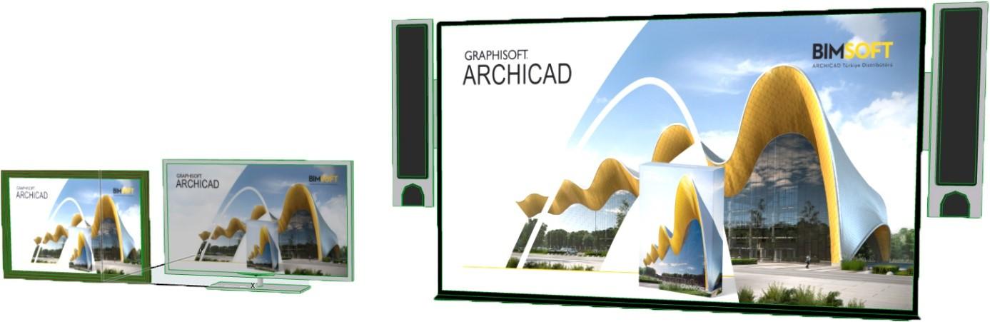 ARCHICAD'te Objelerdeki Resimleri Değiştirme 6