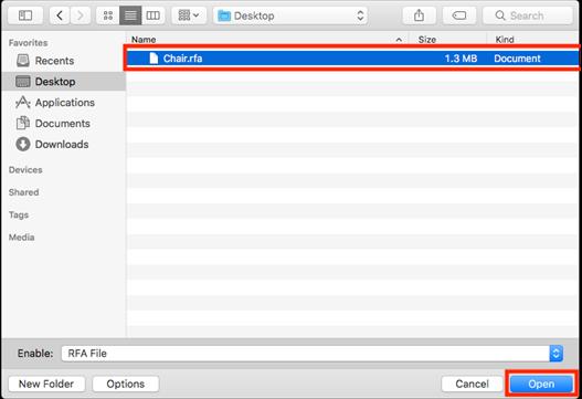 RFA Dosyalarını GDL Objelere Dönüştürme 1