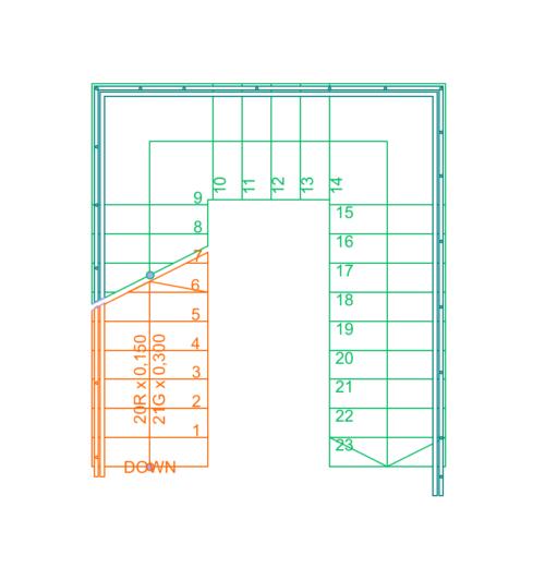 Merdiven Plan Gösterim Ayarları 11