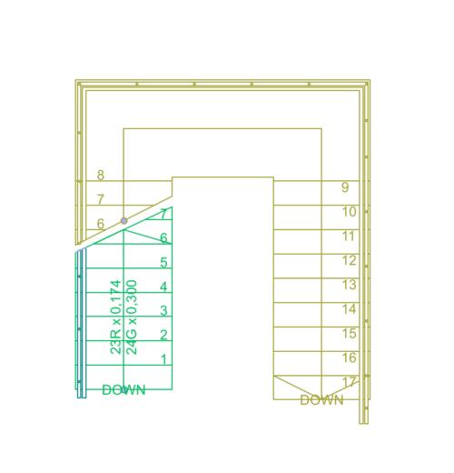 Merdiven Plan Gösterim Ayarları 8