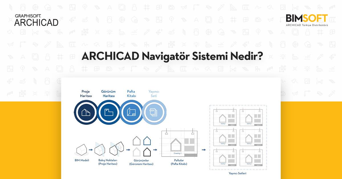 ARCHICAD Navigatör Sistemi Nedir? 1