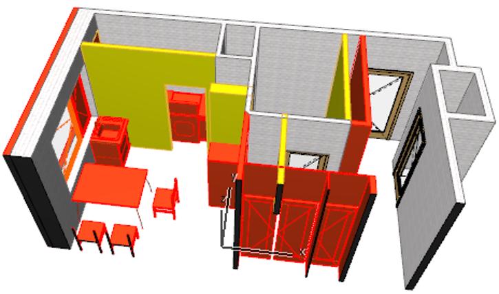 ARCHICAD Renovasyon Filtreleri Örnekleri 1