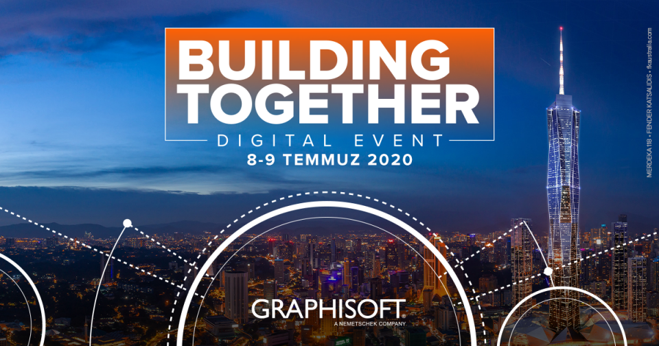 GRAPHISOFT Building Together Dijital Etkinliğine Davetlisiniz 17