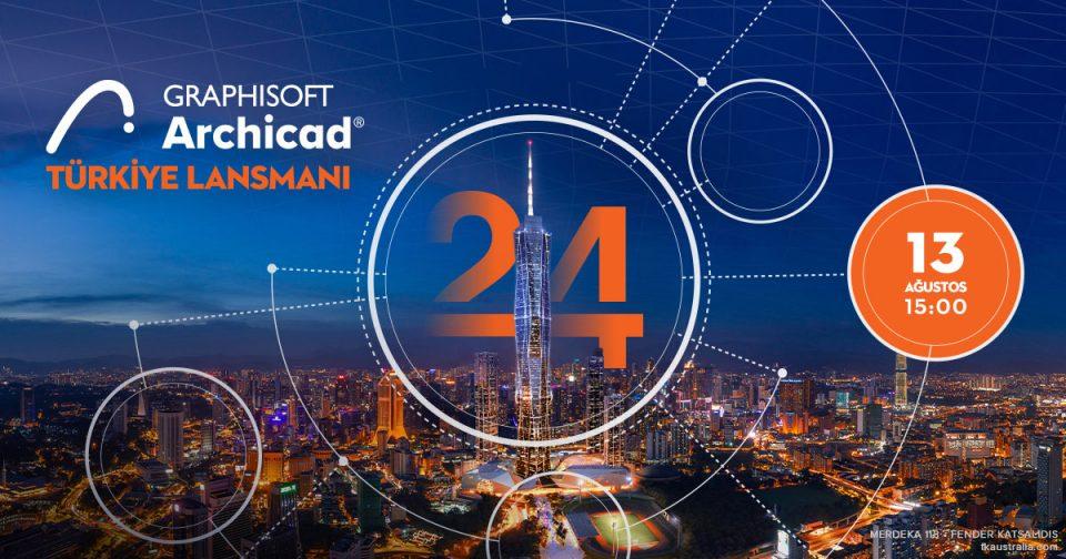 Archicad 24 Türkiye Online Lansmanı 13