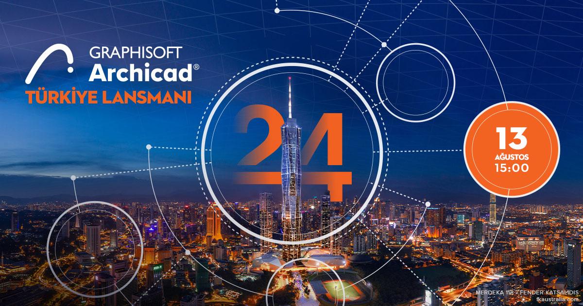 Archicad 24 Türkiye Online Lansmanı 4